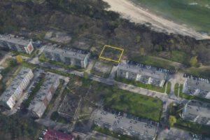 Planowany teren rozbudowy przy ul. Dedala