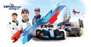 Logo Verva street racing oraz Robert Kubica