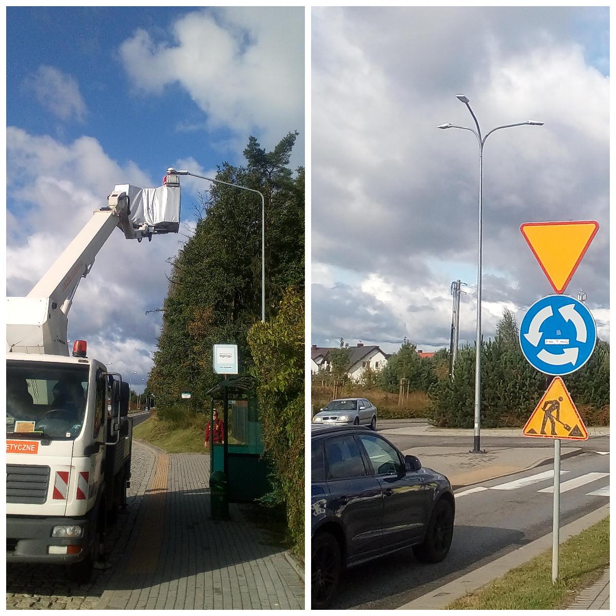 Chwarzno – Wiczlino ma nowe, energooszczędne oświetlenie ulic