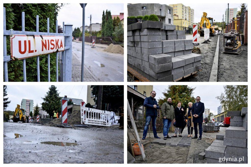 remont ulicy Niskiej