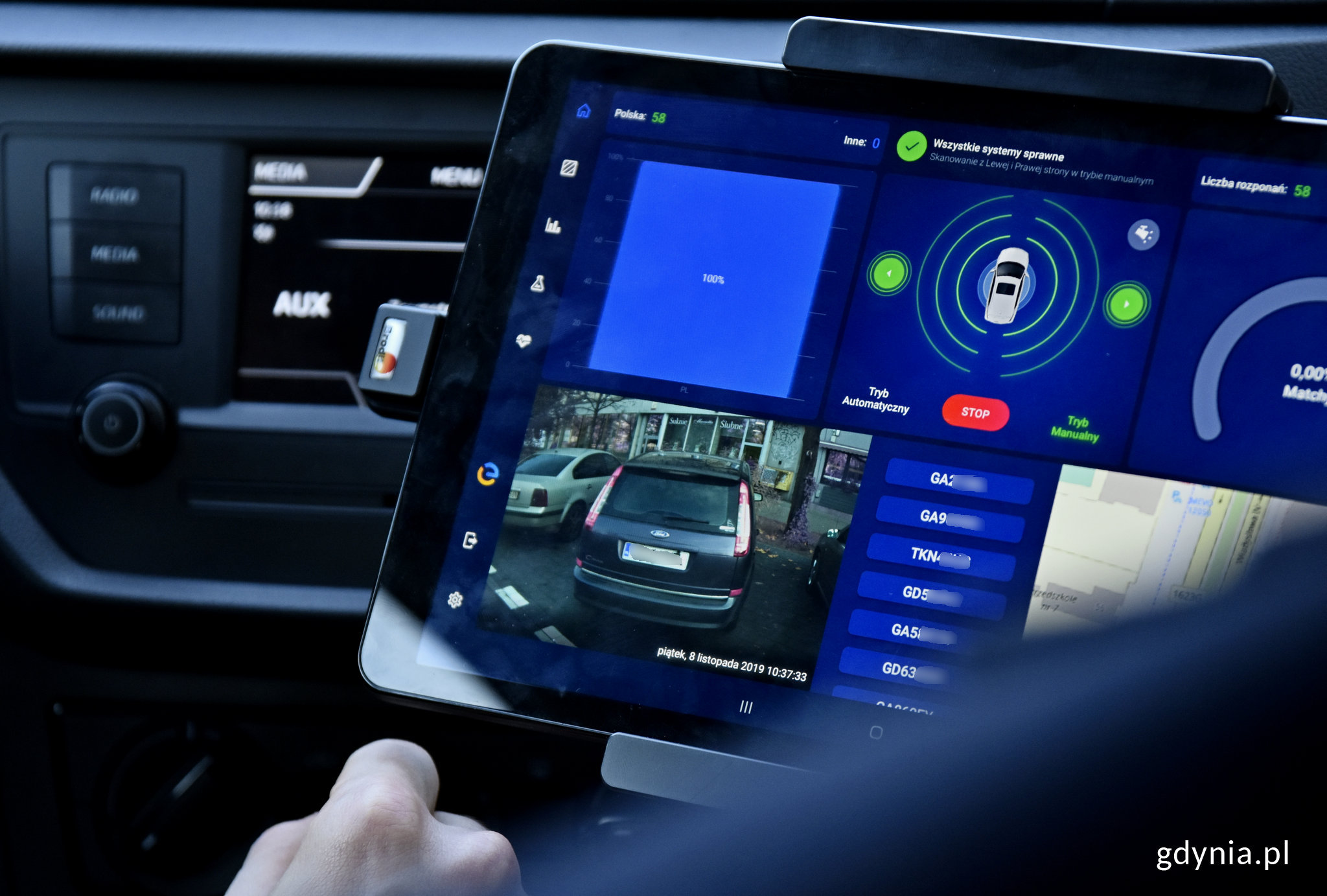 Gdynia sprawdza e-kontrole parkowania