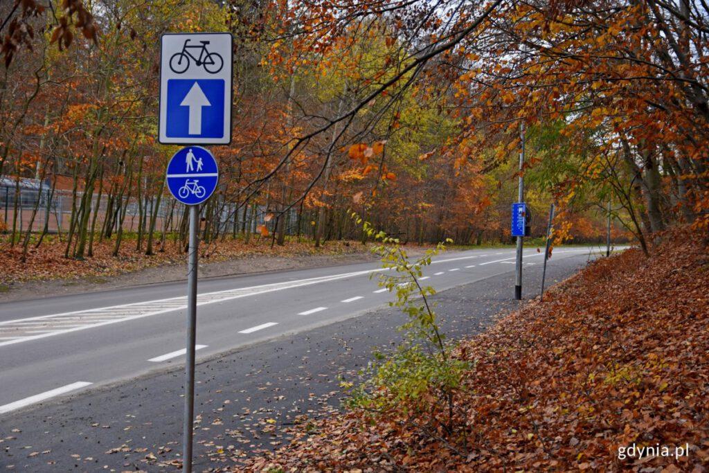 ciąg pieszo-rowerowy na Małokackiej