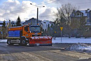odśnieżanie ulic Gdyni