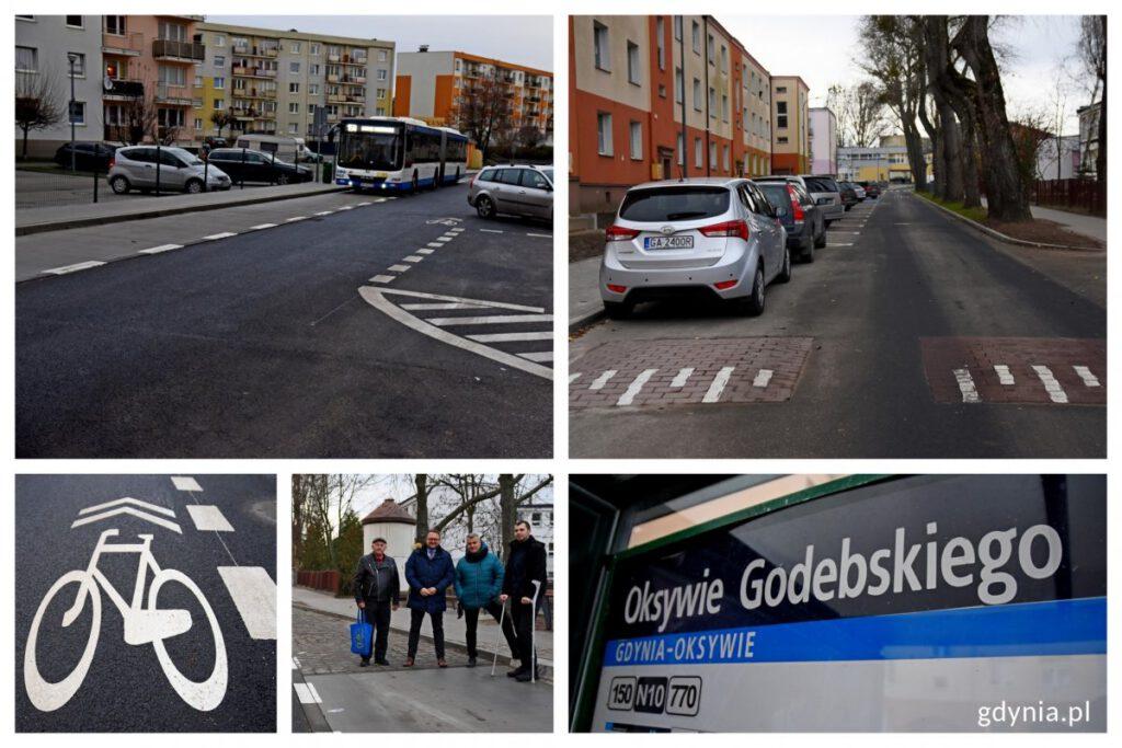 Ulica Godebskiego po remoncie