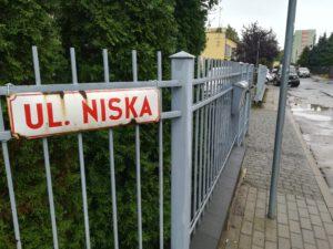 Ulica Niska na Witominie
