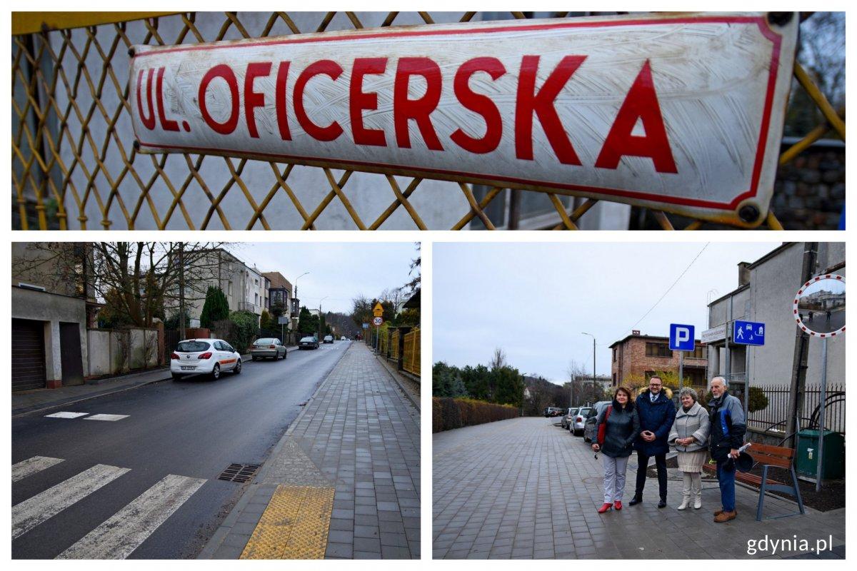 Ulica Oficerska już po remoncie