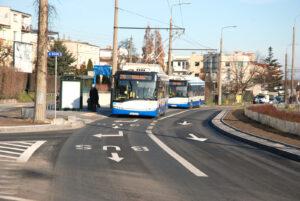 Buspas na ulicy Wielkopolskiej/ fot. Monika Karnowska/ ZDiZ