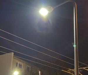 Nowoczesna latarnia z oprawą LED