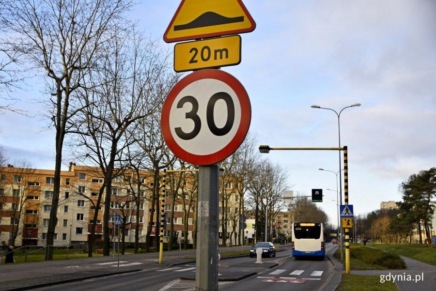 wyświetlacze prędkości na Unruga