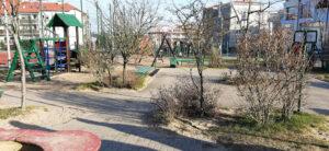 Tak wygląda obecnie plac zabaw przy Gryfa Pomorskiego// fot. Piotr Szpajer