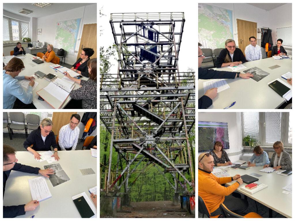 Uczestnicy dialogu technicznego w sprawie witomińskiej wieży widokowej/ fot. M. Białoskórska, ZDiZ