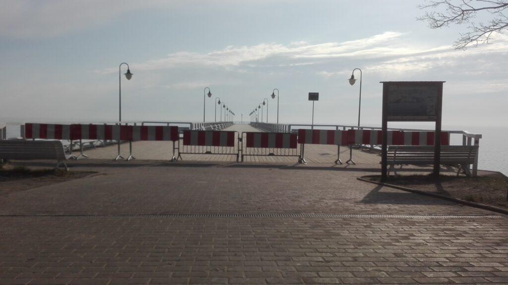 Molo w Orłowie będzie zamknięte do odwołania // gdynia.pl