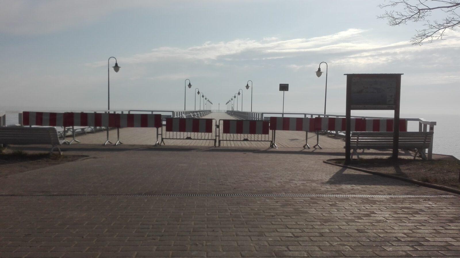 Gdynia zamknęła molo w Orłowie