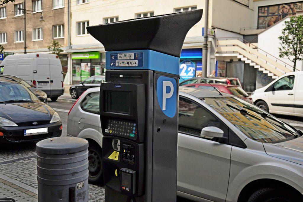Parkomat// fot. mat. prasowe