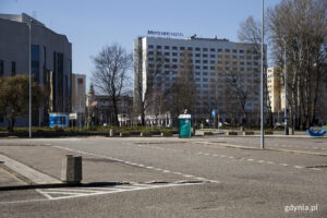 Zamknięty parking przy Bulwarze Nadmorskim // fot. gdynia.pl