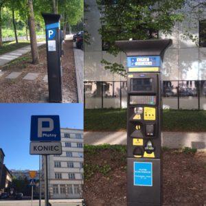 Parkomaty w gdyńskiej strefie płatnego parkowania // mat.pras.