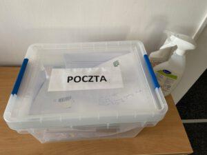 Kwarantanna przesyłek pocztowych // fot. ZDiZ