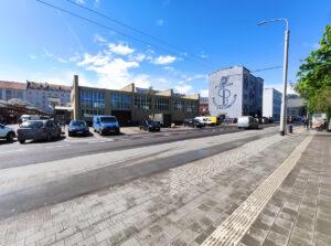 Rejon ul. Jana z Kolna, w którym powstanie przejście dla pieszych // fot. ZDiZ