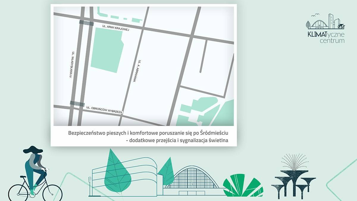 W tych lokalizacjach powstana nowe przejścia // fot. mat.pras.