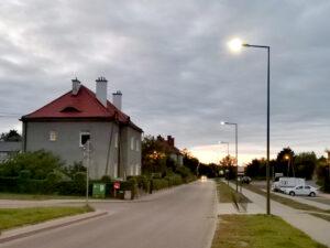 Nowe oświetlenie na ulicy Starodworcowej // bo.gdynia.pl