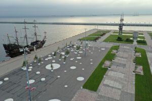 Nowe zagospodarowanie Molo Południowego // fot.#dzielnice w Gdyni