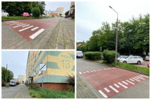 Próg zwalniający na ulicy Widnej // fot. ZDiZ