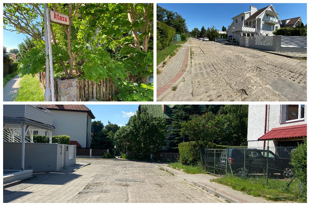 Ta obecnie wygląda ulica Atlasa na Chwarznie-Wiczlinie // fot. ZDiZ