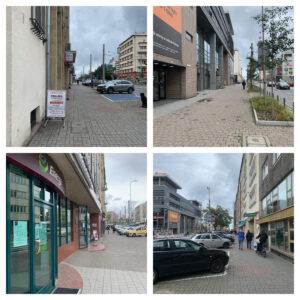 Odcinki chodników ul. 10 Lutego, króre prejdą metamorfozę // fot. dzielnice#wGdyni