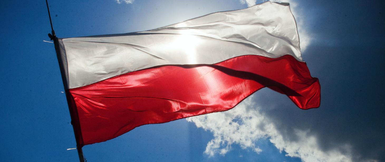 Flaga narodowa / źródło gov.pl