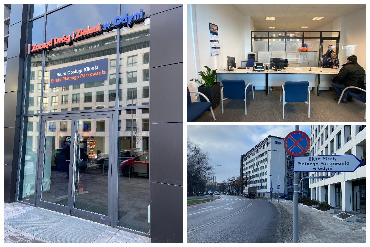 Kolaż zdjęć: nowa siedziba biura SPP