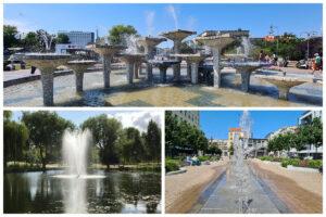 Trzy gdyńskie fontanny/ fot. gdynia.pl/ ZDiZ