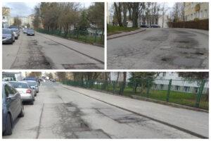 Nawierzchnie ulic, które będą remontowane // fot. ZDiZ