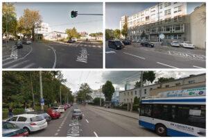 Odcinki ulic, kt. będą remontowane. fot google map