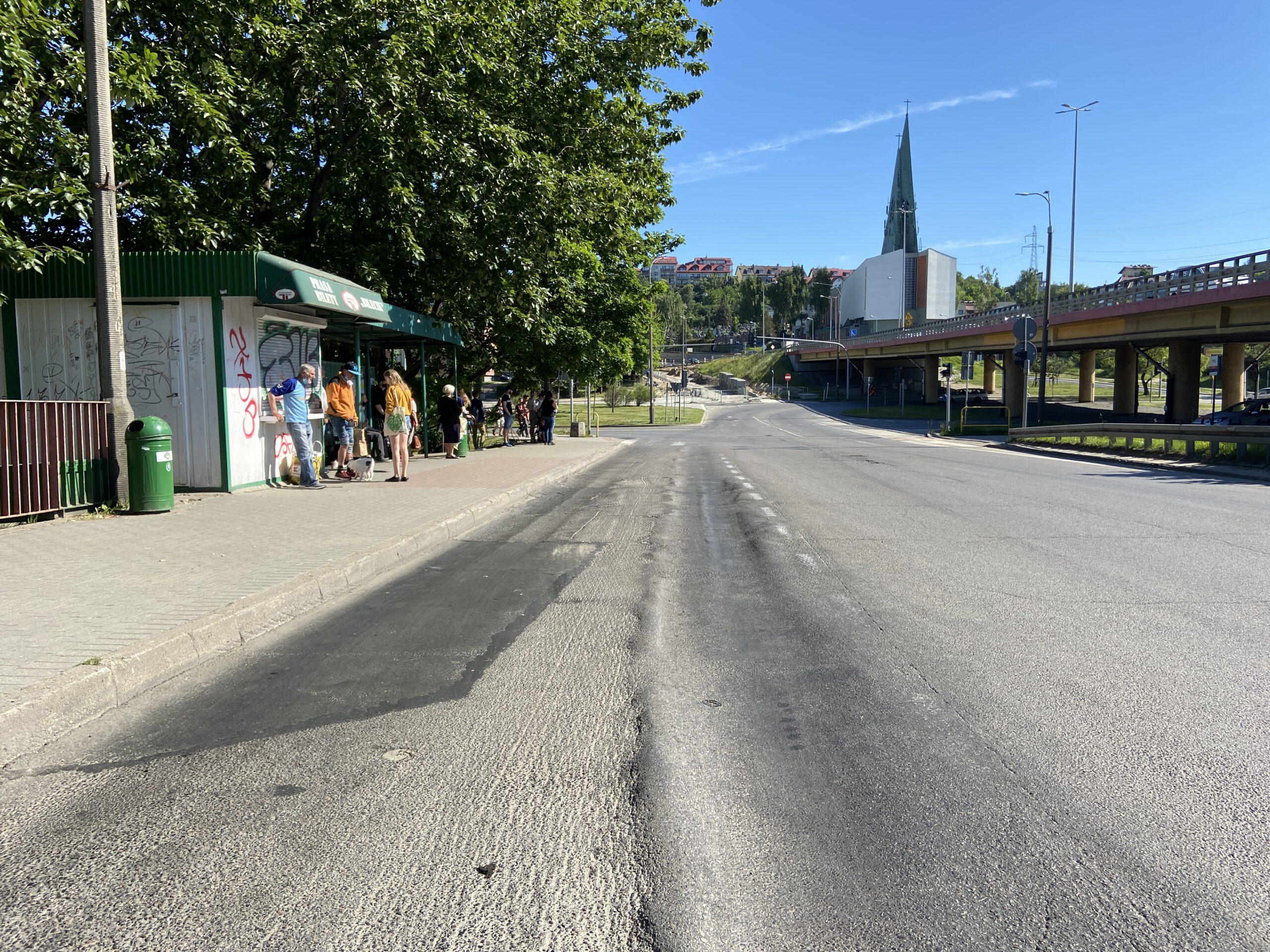zatoka autobusowa na Obłużu // fot. ZDiZ