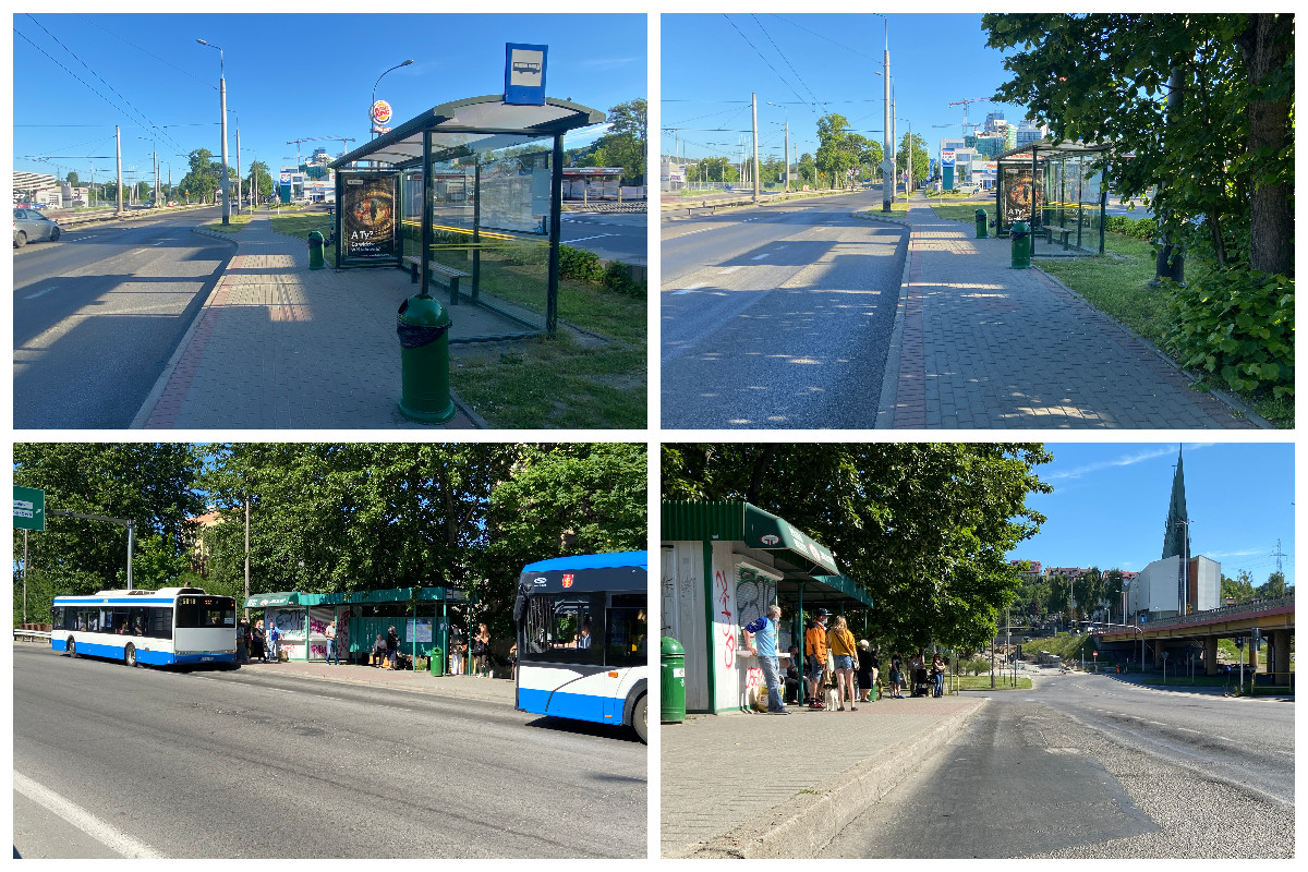 Zatoki autobusowe, które przejda modernizację // fot. ZDiZ