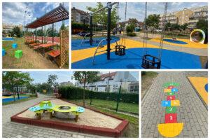 Kolorowa przemiana placu zabaw przy ul. Gryfa Pomorskiego