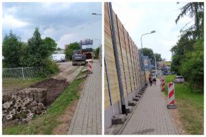 Roboty drogowe w Orłowie // fot.ZDiZ