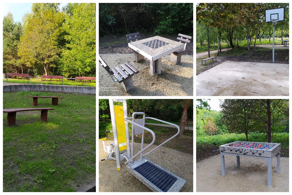 Nowe strefy atrakcji w parku przy ul. Spokojnej // fot.ZDiZ